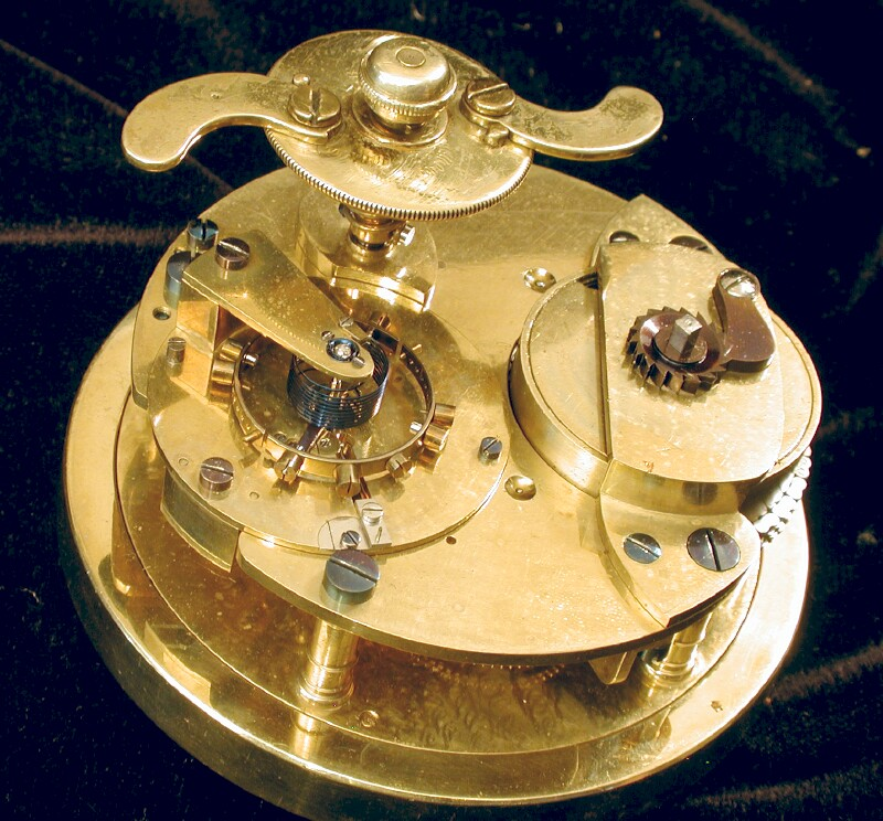 Barraudand Lund small 8 day chronometer movement